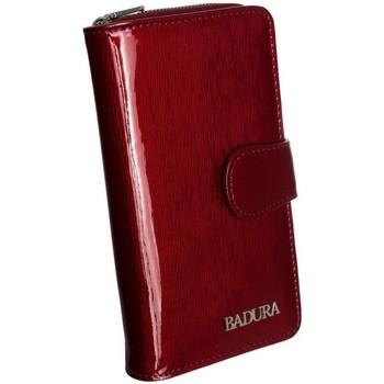 Taschen Damen Portemonnaie Badura B76116PSH Dunkelrot