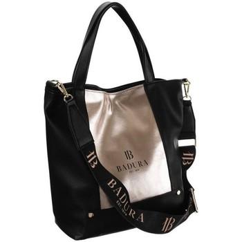 Taschen Damen Handtasche Badura TD204CZZLCD30864 Schwarz, Golden
