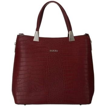 Taschen Damen Handtasche Badura TD183CRCD Dunkelrot