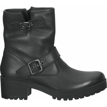 Schuhe Damen Boots Imac Stiefelette Schwarz