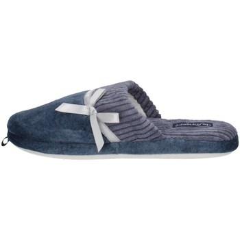 Schuhe Damen Pantoffel De Fonseca ROMA TOP I W741 Blau