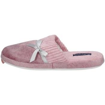 Schuhe Damen Pantoffel De Fonseca ROMA TOP I W741 Rose