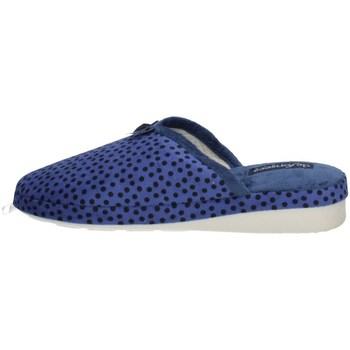 Schuhe Damen Pantoffel De Fonseca VERONA I W740 Blau