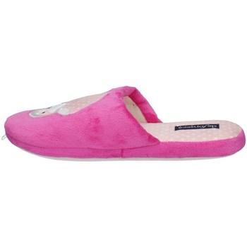 Schuhe Damen Pantoffel De Fonseca ROMA TOP I W748V Violett