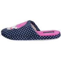 Schuhe Damen Pantoffel De Fonseca ROMA TOP I W748V Blau