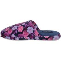 Schuhe Damen Pantoffel De Fonseca ROMA TOP I W701 Blau
