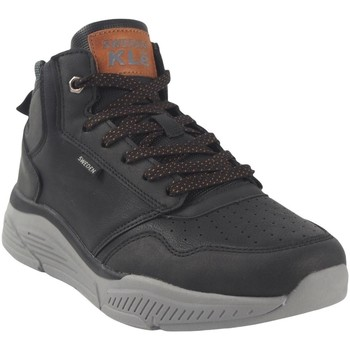 Schuhe Herren Sneaker High Sweden Kle Botín caballero  183561 negro Schwarz