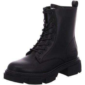 Schuhe Damen Stiefel Dockers by Gerli Stiefeletten DOCKERS 49DI305600100 schwarz