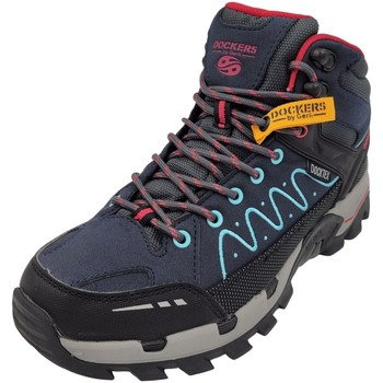 Schuhe Damen Fitness / Training Dockers by Gerli Sportschuhe 49LC201-706 Dockers 49LC201-706 blau
