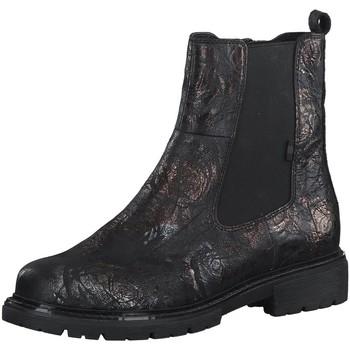Schuhe Damen Stiefel Jana Stiefeletten Woms Boots 8-8-25417-27/008 008 schwarz