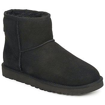 Schuhe Damen Boots UGG W CLASSIC MINI Schwarz