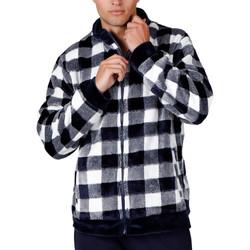 Kleidung Herren Pyjamas/ Nachthemden Admas For Men Innenjacke Cuadros Admas Blau
