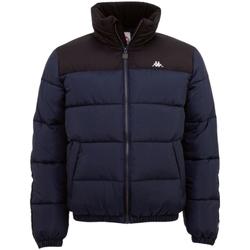 Kleidung Herren Daunenjacken Kappa Jaro Jacket Blau