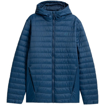 Kleidung Herren Parkas 4F Men Jacket Blau
