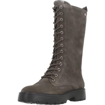 Schuhe Damen Klassische Stiefel Carmela 68119C Grau