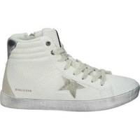 Schuhe Damen Sneaker High D'angela DEPORTIVAS  DAL20263 MODA JOVEN BLANCO/PLATA Blanc