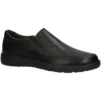 Schuhe Herren Slipper Valleverde 36980AI22 Halbschuhe Harren SCHWARZ SCHWARZ