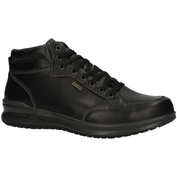 Schuhe Herren Sneaker High Valleverde VL53822AI22 niedrig Harren SCHWARZ SCHWARZ