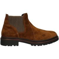 Schuhe Herren Boots Valleverde 49840AI22 Chelsea Harren TABAK TABAK
