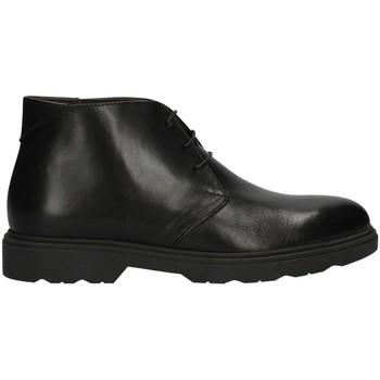 Schuhe Herren Boots Valleverde 28831AI22 Knöchel Harren SCHWARZ SCHWARZ