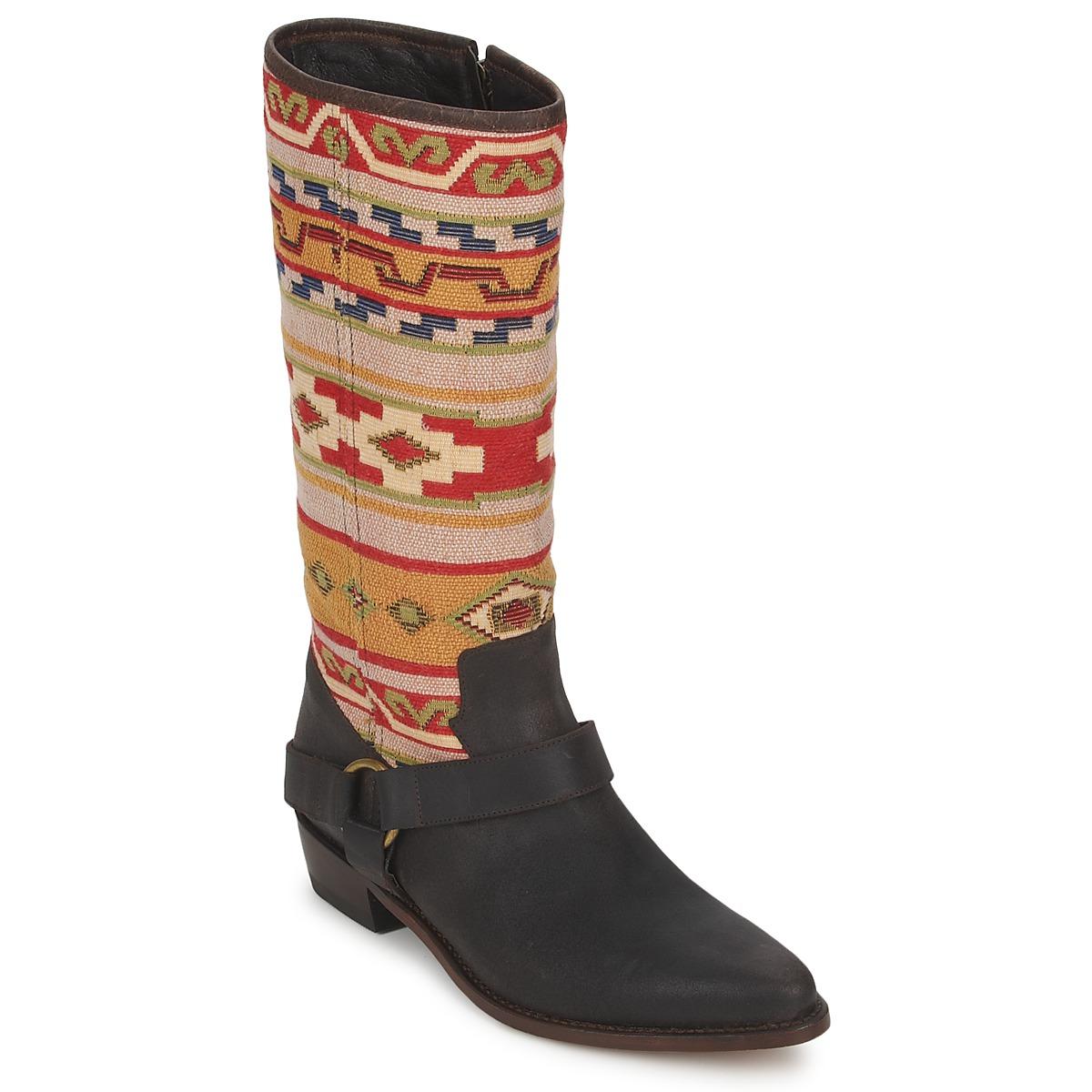 Sancho Boots CROSTA TIBUR GAVA Kastanienrot - Kostenloser Versand bei Spartoode ! - Schuhe Klassische Stiefel Damen 144,50 €