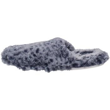 Schuhe Damen Hausschuhe De Fonseca ROMA TOP I W756 Blau