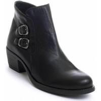 Schuhe Damen Low Boots Purapiel 72280 BLACK