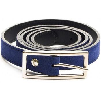 Accessoires Damen Gürtel Purapiel 72502 BLUE