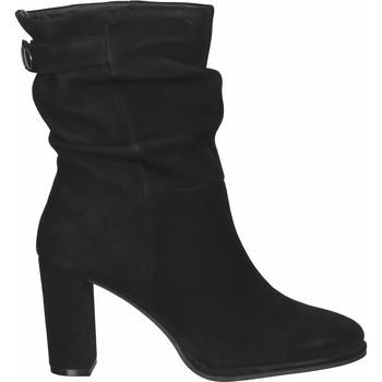 Schuhe Damen Low Boots Steven New York Stiefelette Schwarz