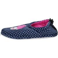 Schuhe Damen Hausschuhe De Fonseca AOSTA I W748V Blau
