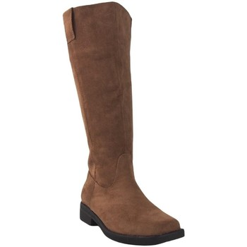 Schuhe Damen Boots Bienve Bota señora  2a-1498 cuero Braun