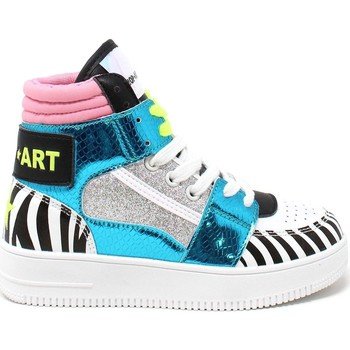 Schuhe Kinder Sneaker High Shop Art SAG80330 Weiß