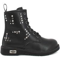 Schuhe Kinder Boots Cult POINT Schwarz
