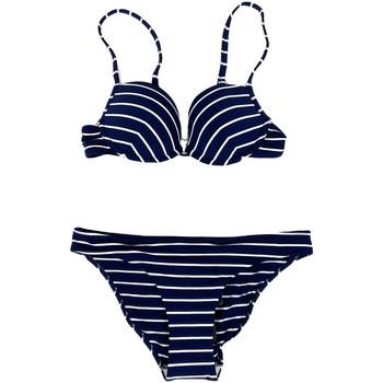 Kleidung Damen Bikini Ea7 Emporio Armani 911026 7P412 Blau