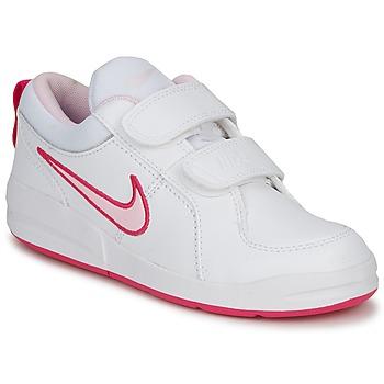 Schuhe Mädchen Sneaker Low Nike PICO 4 PSV Weiss / Pink