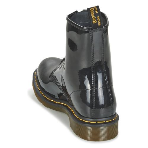 Dr Martens Schwarz 1460 W Schwarz Martens  Schuhe Stiefel Damen a93c69