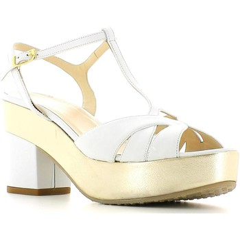 Schuhe Damen Sandalen / Sandaletten Grace Shoes CR75 High heeled sandals Frauen Bianco