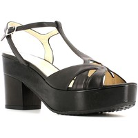 Schuhe Damen Sandalen / Sandaletten Grace Shoes CR75 High heeled sandals Frauen Black