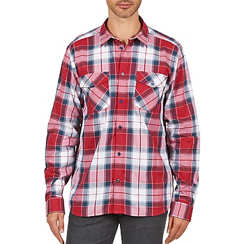 Kleidung Herren Langärmelige Hemden Wesc JOEY Rot