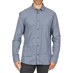 Kleidung Herren Langärmelige Hemden Wesc YANIK Blau