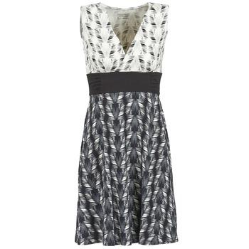 Kleidung Damen Kurze Kleider Patagonia MARGOT Schwarz / Weiss