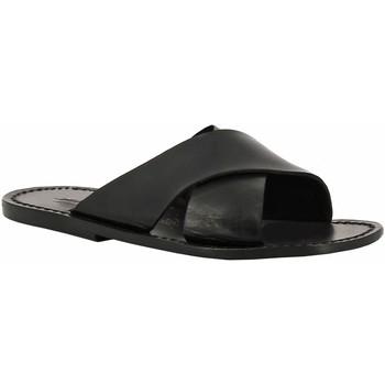 Schuhe Damen Pantoffel Gianluca - L'artigiano Del Cuoio 560 U NERO CUOIO nero