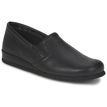 Schuhe Herren Hausschuhe Rohde DIETER Schwarz