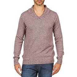 Kleidung Herren Pullover Kulte PULL CHARLES 101823 ROUGE Rot