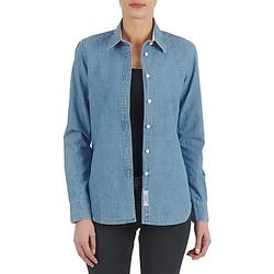Kleidung Damen Hemden Kulte CHEMISE CIRCUIT 101826 BLEACH Blau