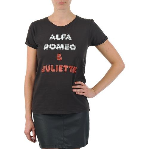 T-Shirts & Poloshirts Kulte LOUISA ROMEO 101950 NOIR Schwarz 350x350