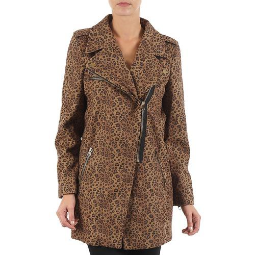 Mäntel Brigitte Bardot BB43110 Braun / Leopard 350x350