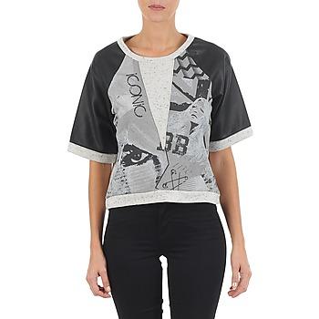Kleidung Damen Sweatshirts Brigitte Bardot BB43025 Grau