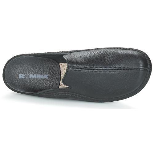 Romika MOKASSO 202 G Schwarz  Schuhe Hausschuhe Herren 48,99