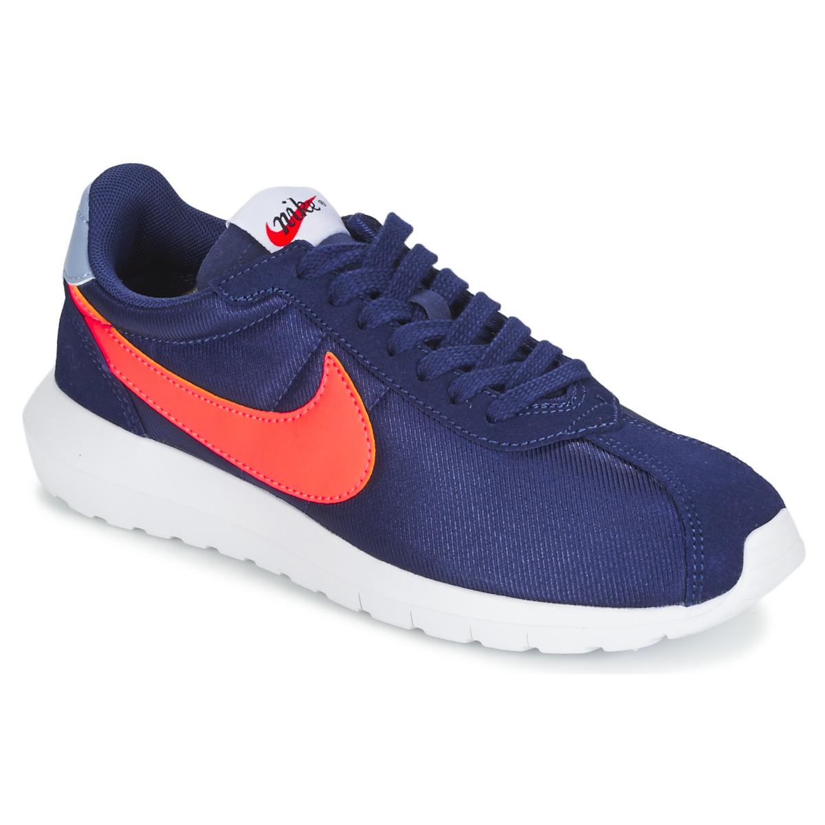 Nike ROSHE LD-1000 W Blau / Orange - Kostenloser Versand bei Spartoode ! - Schuhe Sneaker Low Damen 59,99 €